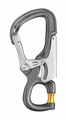 Petzl EASHOOK OPEN snap-hook with gated captive eye for direct lanyard connection