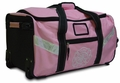 Pink XXL Turnout Gear Bag with Wheels