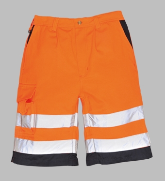 Portwest Hi-Vis P/C Shorts