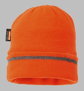Portwest Knitted Hat Reflective Trim