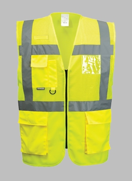 Portwest Madrid Executive Hi-Vis Vest