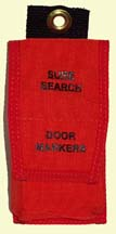 Pouch for Single Door Markers holds 12