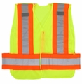 Public Safety Vest High Contrast Triple Trim