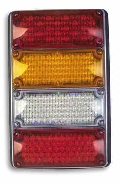 "Weldon Quad LED  4"" X 6"" 4694 Series Left Side"