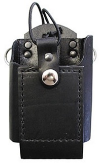Boston Leather Radio Case for Motorola HT90 and MTX 900 Snap Closure