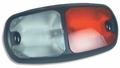 Weldon Red/Clear Interior Lamp, Euro-Style ON/OFF Switch (8086 SERIES)