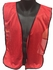 Red Mesh Safety Vest