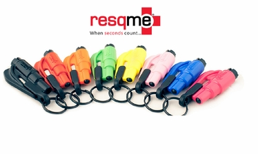 RESQME The Original Keychain Car Escape Tool with Accessory Kit
