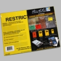 Restricted Safety Assessment Placard 100# Rite in the Rain 8 in x 10 1/2 in