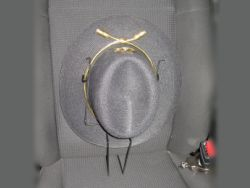 Ride Along Vehicle Hat Rack