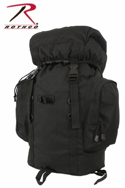 Rothco 25L Black Tactical Backpack