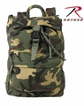 Rothco Camouflage Canvas Day Pack