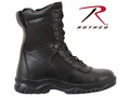 "Rothco Forced Entry 8"" Tactical Boot With Side Zipper"