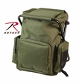 Rothco Olive Drab Backpack & Stool Combination