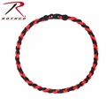 Rothco Thin Red Line Paracord Red Necklace