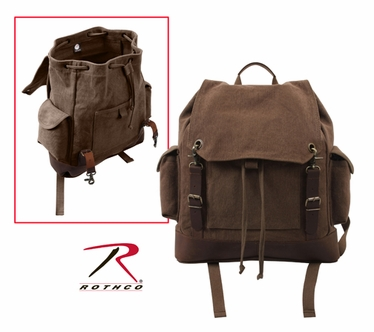 Rothco Vintage Brown Expedition Rucksack