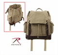 Rothco Vintage Khaki Expedition Rucksack