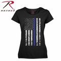 Rothco Women's Thin Blue Line Longer T-Shirt