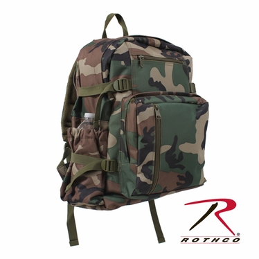 Rothco Woodland Camo Backpack