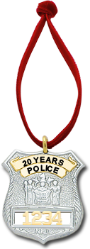 S305NJ Family Badge Ornament - Smith & Warren