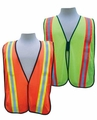 Safety Vest with Contrast Striping
