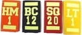 SCBA Front Band/Hoseline Identifiers