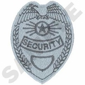 Security Badge Embroidery