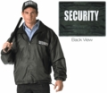 SECURITY Nylon/Polar Fleece Reversible Jacket
