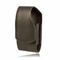 Boston Leather Small Cell Phone Holder (w/ Clip) 5540