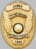 Smith & Warren M261W Badge