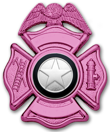 Smith & Warren Pink F141A Badge