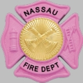Smith & Warren Pink F145 Badge