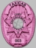 Smith & Warren Pink M261F Badge