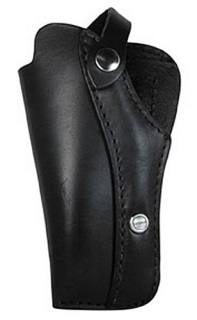 "Boston Leather Springer Holster for 4"" Small and Medium Frame Revolvers"