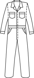 TOPPS2 Standard Coveralls (9.0 oz)