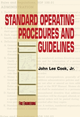 Standard Operating Procedures and Guidelines by John Lee Cook, Jr.