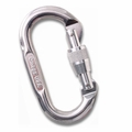 Standard Oval Locking Carabiner Bright