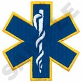 Star of Life-Blue-Large