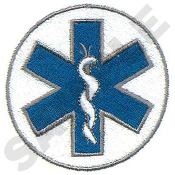 Star of Life in Circle