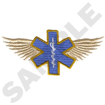 Star of Life With Wings-Small