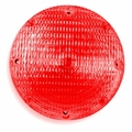 Weldon Stop, 7'' Round, Black Base, SB #1156, Red