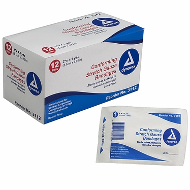Stretch Gauze Bandages, Sterile