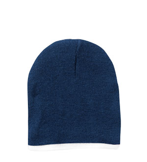STRIPE KNIT BEANIE CAPS