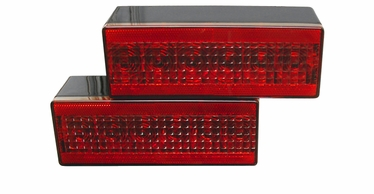 """T80: Eight Function 8"""" LED Box Tail Light"""