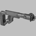 TACTICAL FOLDING BUTTSTOCK W/CHEEKPIECE FOR MILLED AK RIFLES