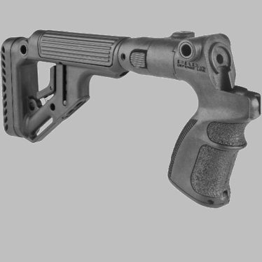 TACTICAL FOLDING BUTTSTOCK W/CHEEKPIECE FOR MOSSBERG 500/590