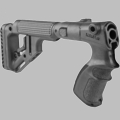 TACTICAL FOLDING BUTTSTOCK W/CHEEKPIECE FOR REMINGTON 870