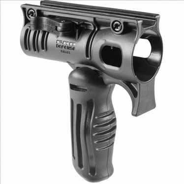 "TACTICAL FOLDING GRIP WITH 1 1/8"" TACTICAL LIGHT ADAPTER"