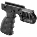 "TACTICAL FOREGRIP WITH 1"" WEAPON LIGHT ADAPTER AND INTEGRATED ON/OFF TRIGGER"