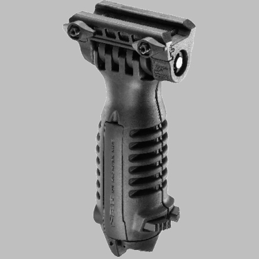 TACTICAL FOREGRIP WITH INTEGRATED ADJUSTABLE BIPOD - QUICK RELEASE